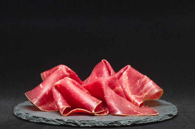 dry cured meat